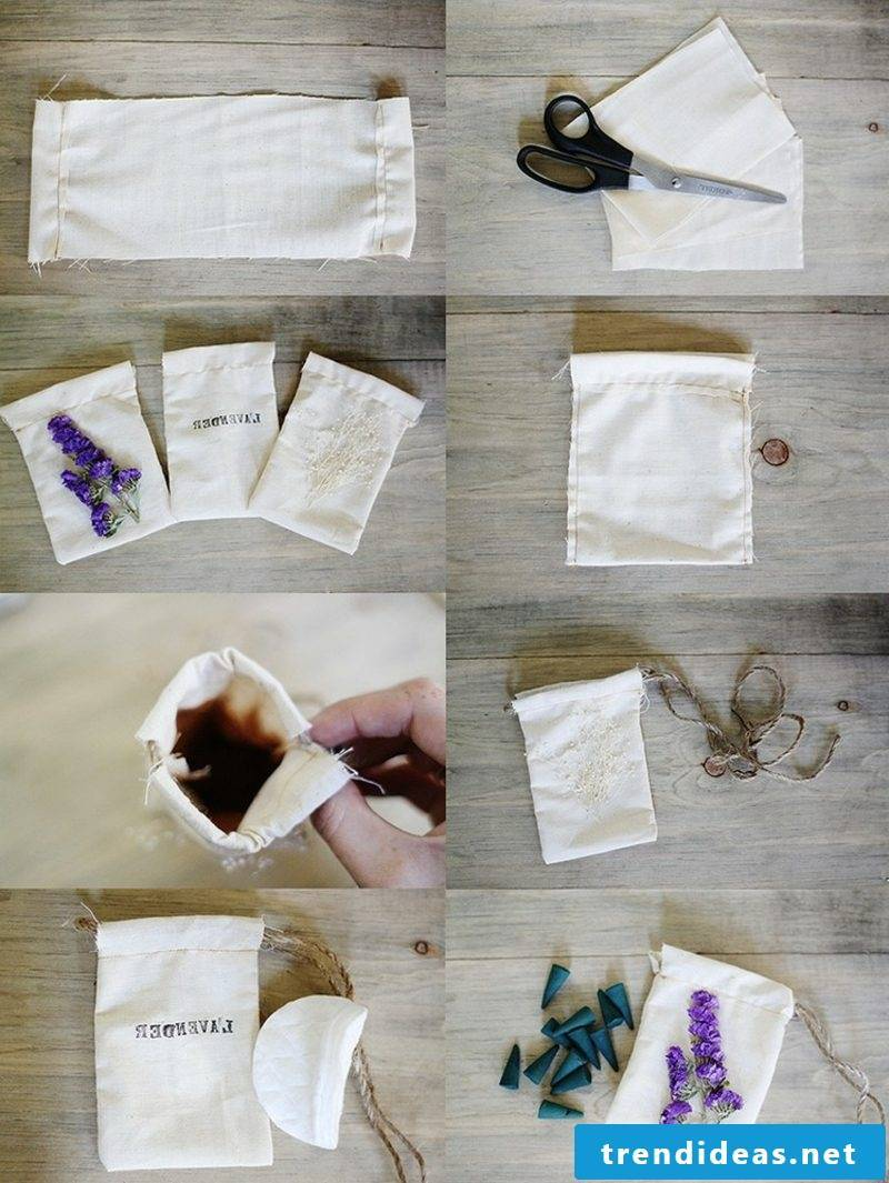 Room fragrance itself make fragrance bags with lavender