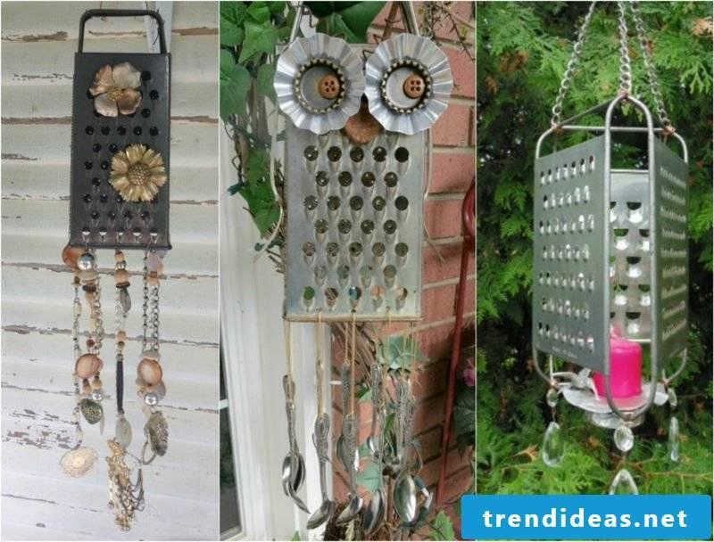 Fancy garden decoration itself make wind chimes