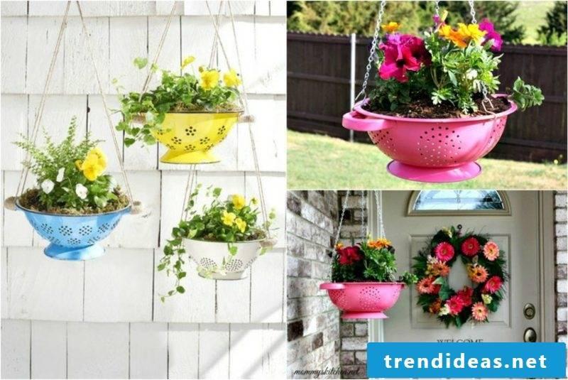 Fancy garden decoration make flowerpot