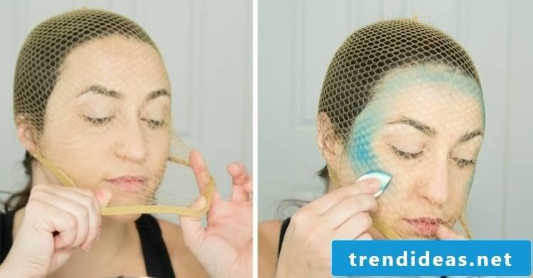 Face painting mermaid