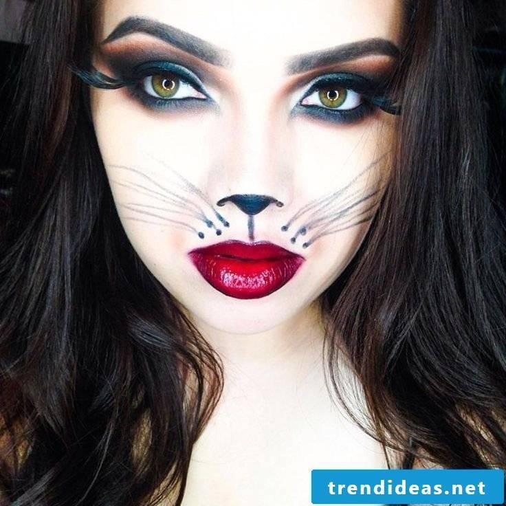 Makeup Tips Cats Makeup Halloween