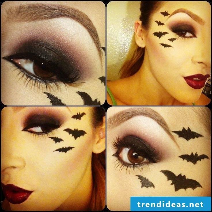 bat make-up sexy