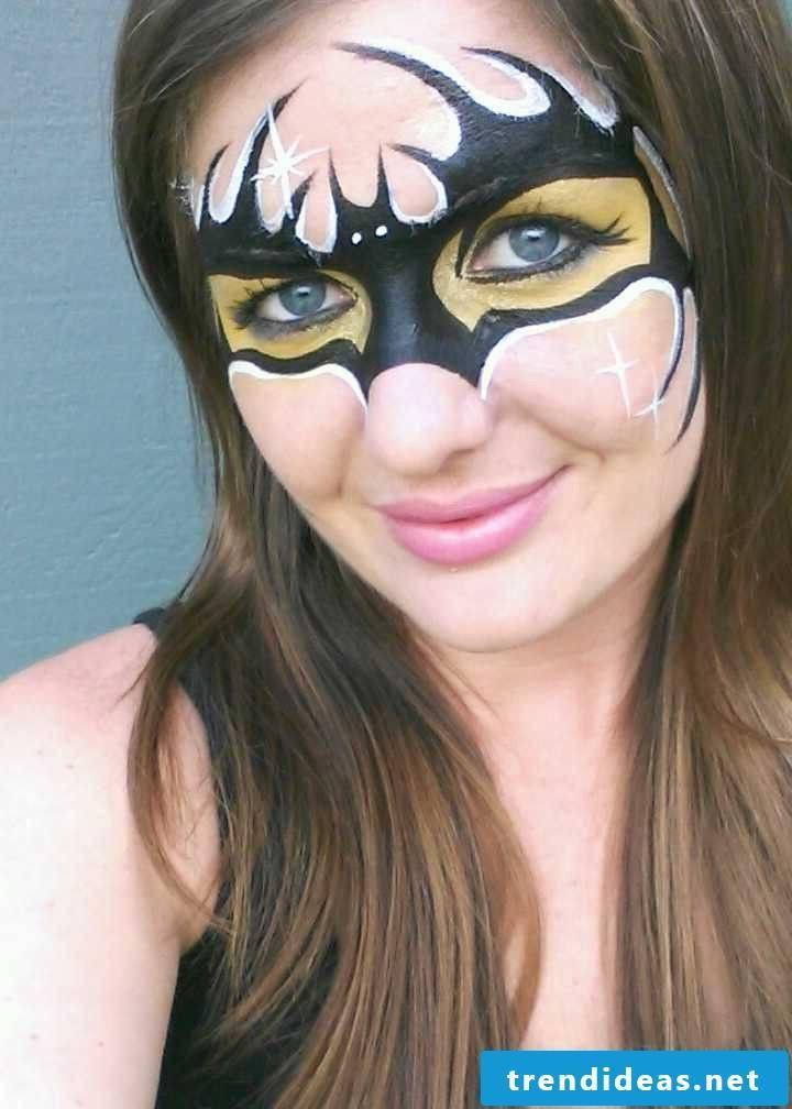 bat make-up diy