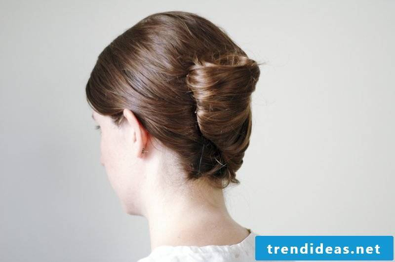 Updos medium-length hair banana