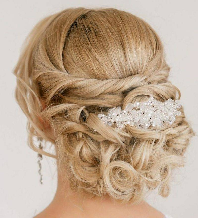 Abiball hairstyles bun at the neck