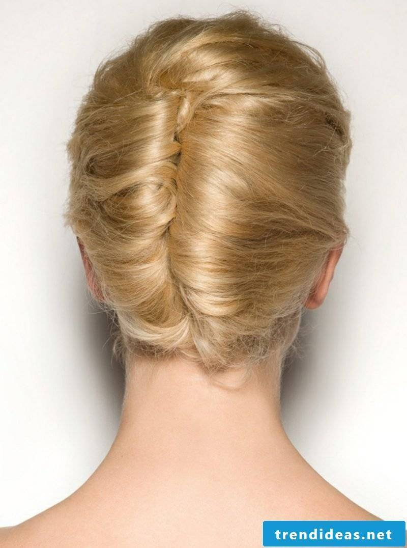 Updos make Banana French twist themselves