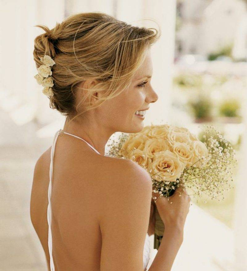 Bridal hairstyles long hair banana