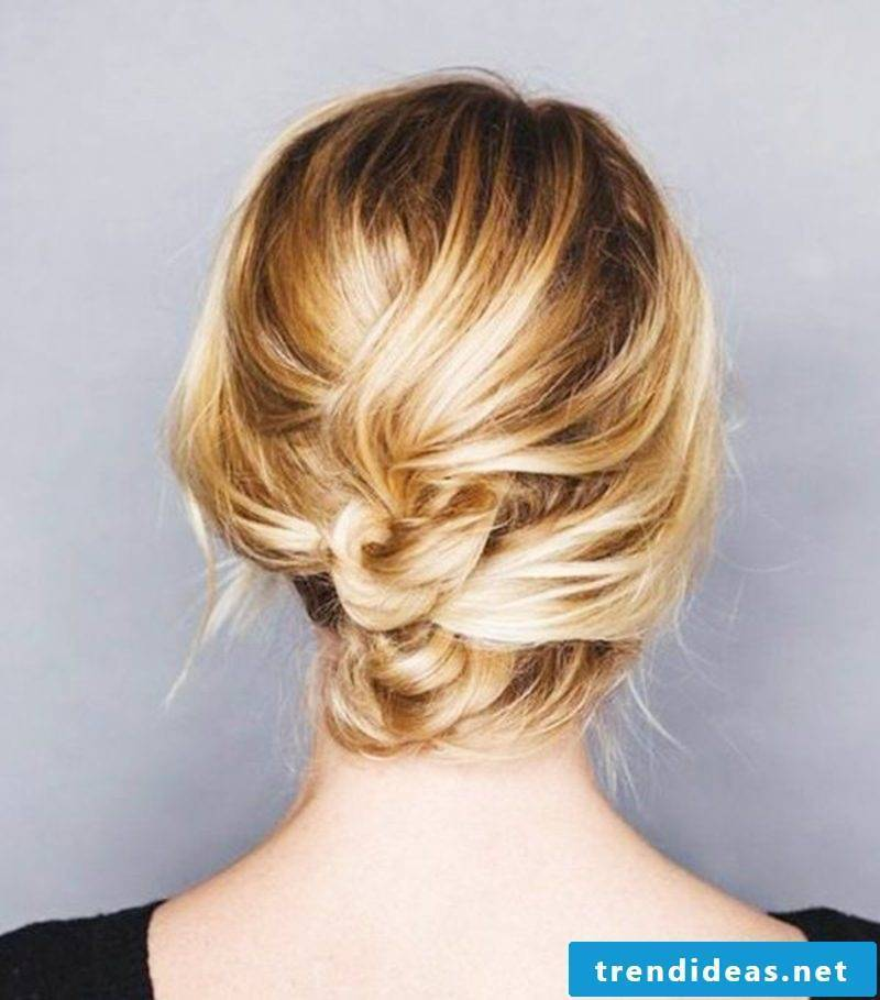 Chic Hairstyles Knotted Updo