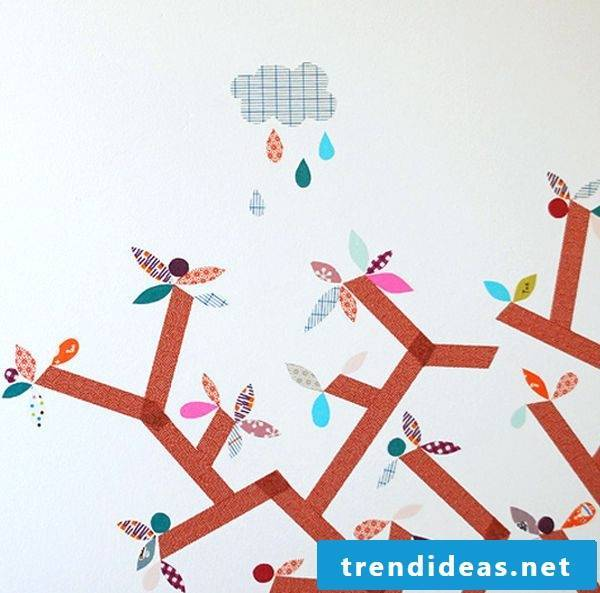 make walls washi tape diy wall design yourself making nursery ideas