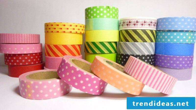 make walls washi tape diy wall design yourself make washi tape motifs