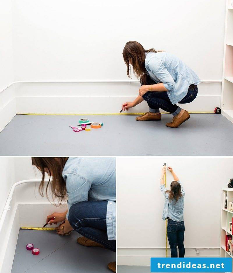 make walls washi tape diy wall design yourself make instruction materials
