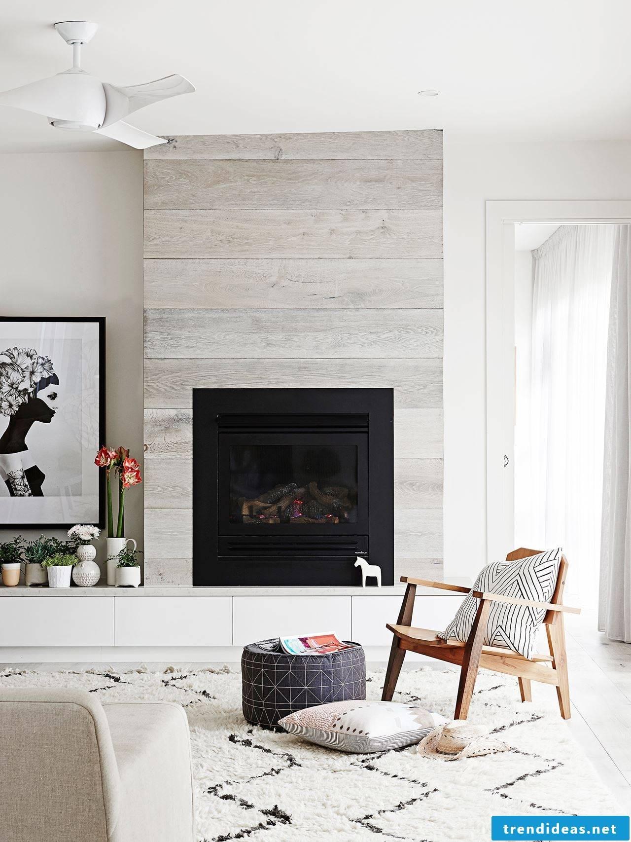 Wallpaper wood look ideas