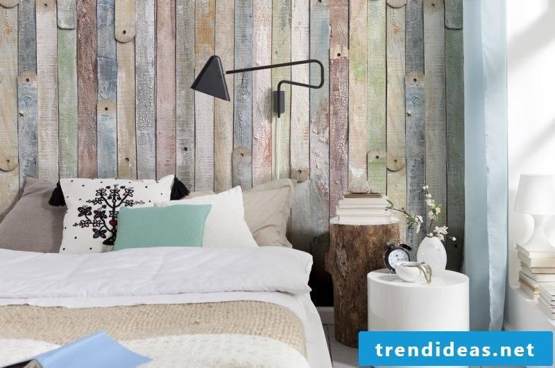 Wallpaper wood look