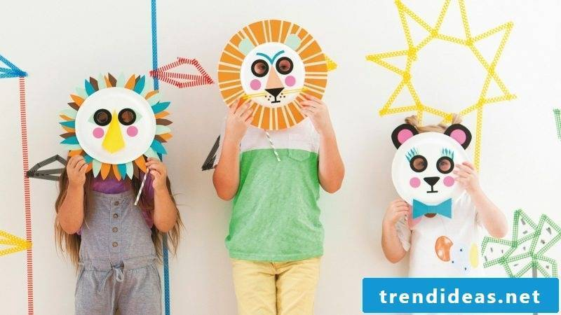 make various animal masks for different occasions