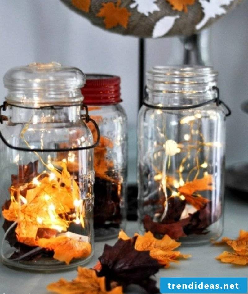 Autumn decor patio original lanterns