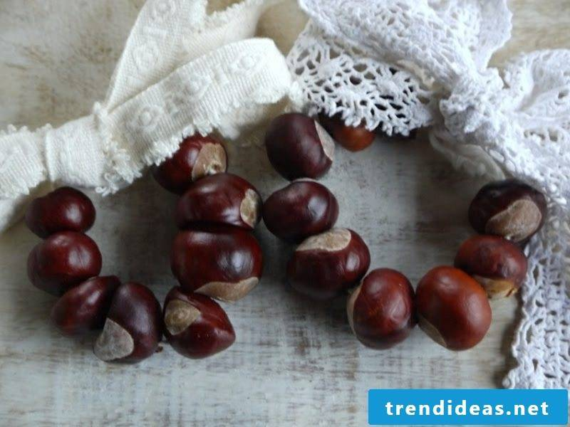 Christmas crafts with children. Chestnuts. Creative ideas