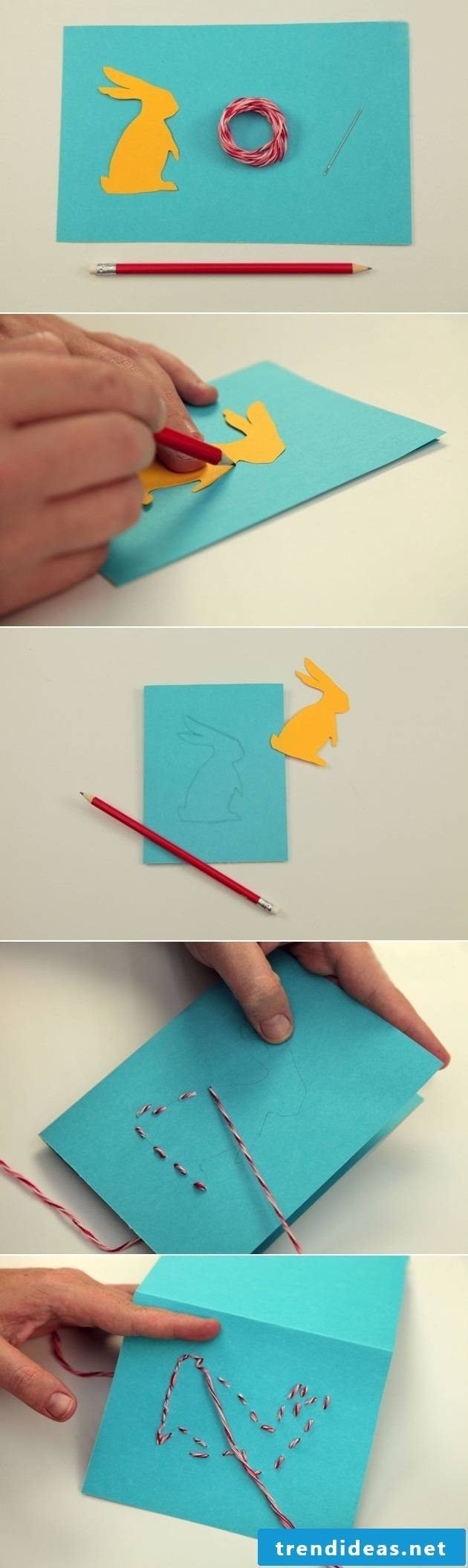 Easter cards crafting tutorial step by step