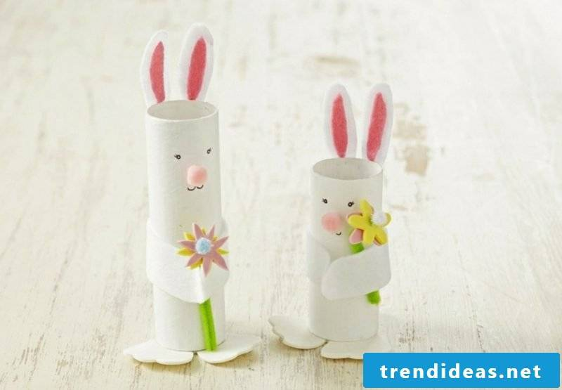 Easter bunnies from Klorollen