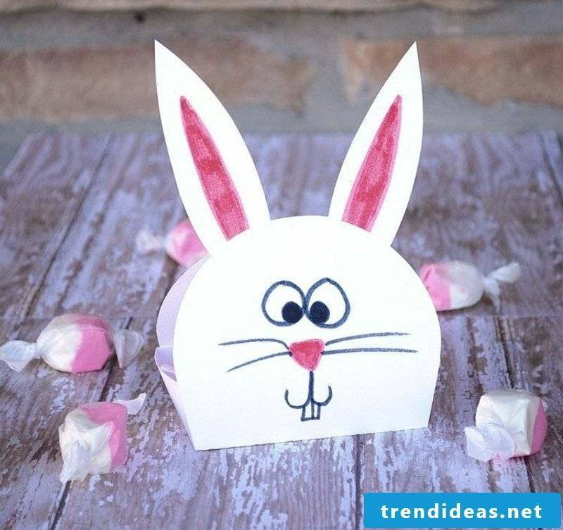funny easter bunnies make creative ideas for Easter