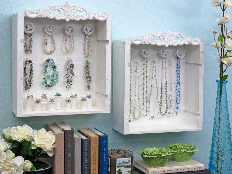 Jewelry stands make creative craft ideas