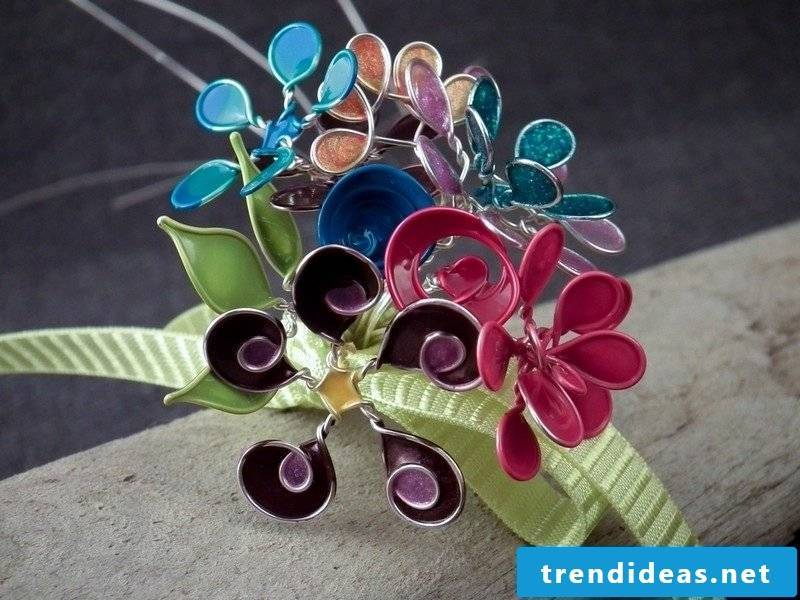 DIY jewelry made of wire creative ideas
