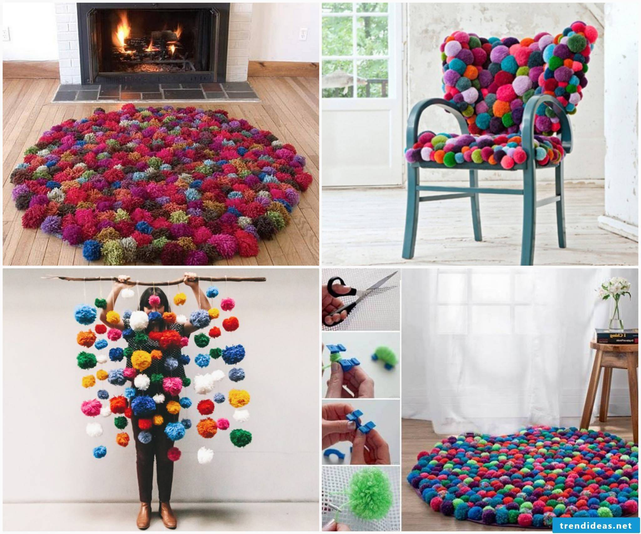 Design your home the coolest things from pompoms