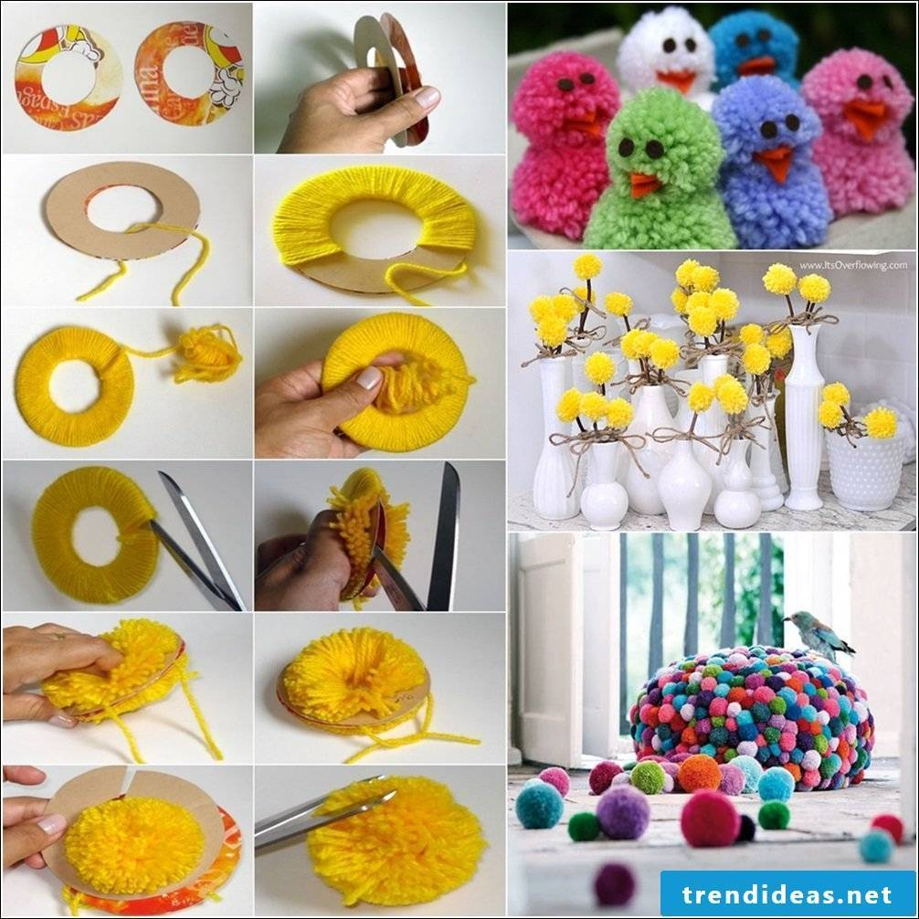 Creative ideas with pompoms