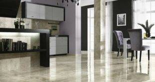Marble floor - all advantages and disadvantages