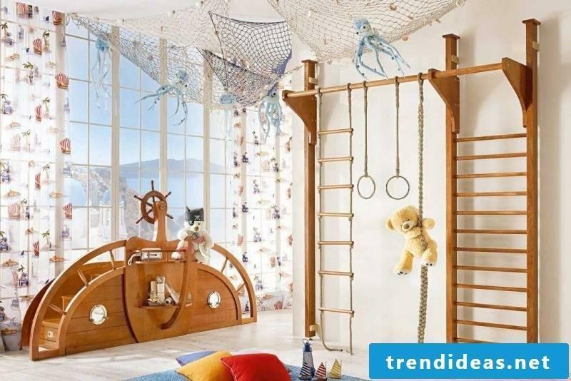 Nursery design maritime style