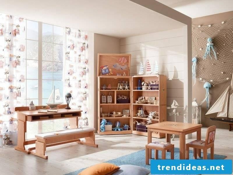 maritime decor nursery