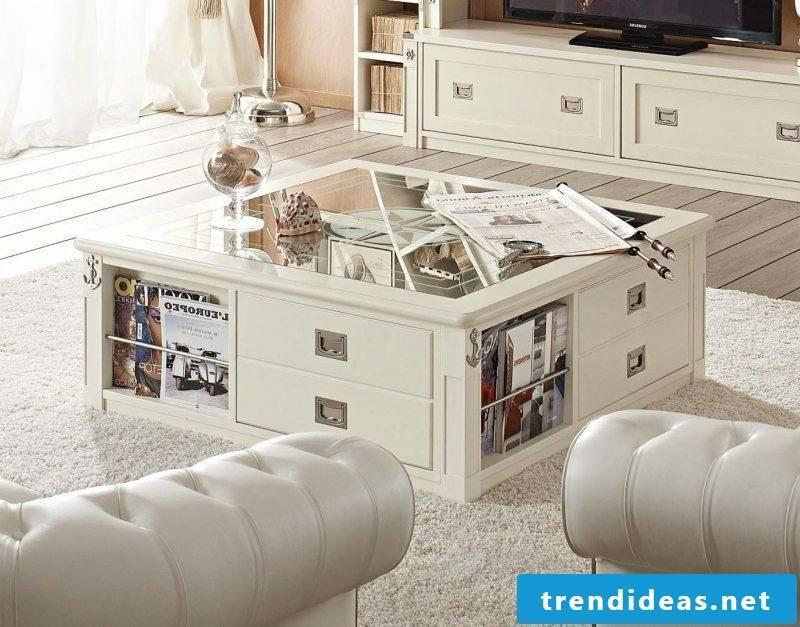 maritime furniture coffee table