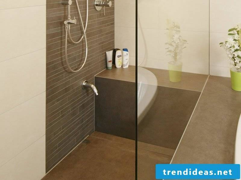modern bathroom design brick shower