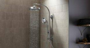 Masonry shower as an eye-catcher in the bathroom: pros and cons