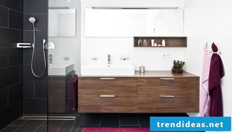 brick shower bathroom design