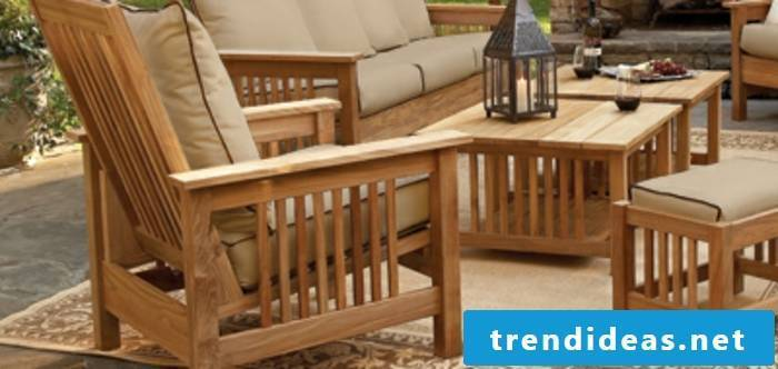 massive-garden furniture-wooden table-exteriors-furniture-set