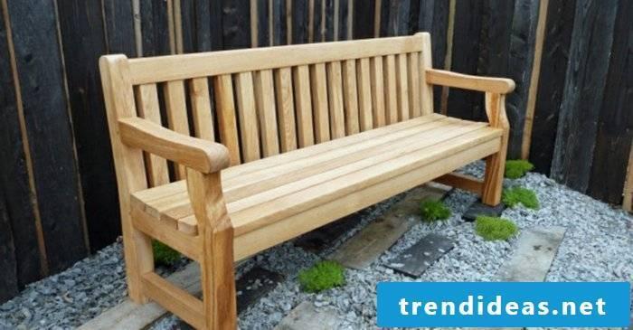 massive-garden furniture-bench-wood-oak