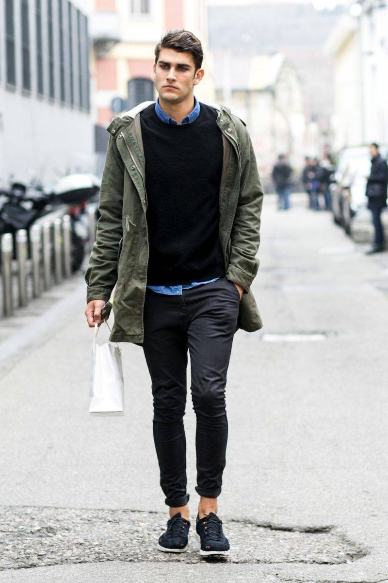 Men's Hairstyle 2015 Fashion Week
