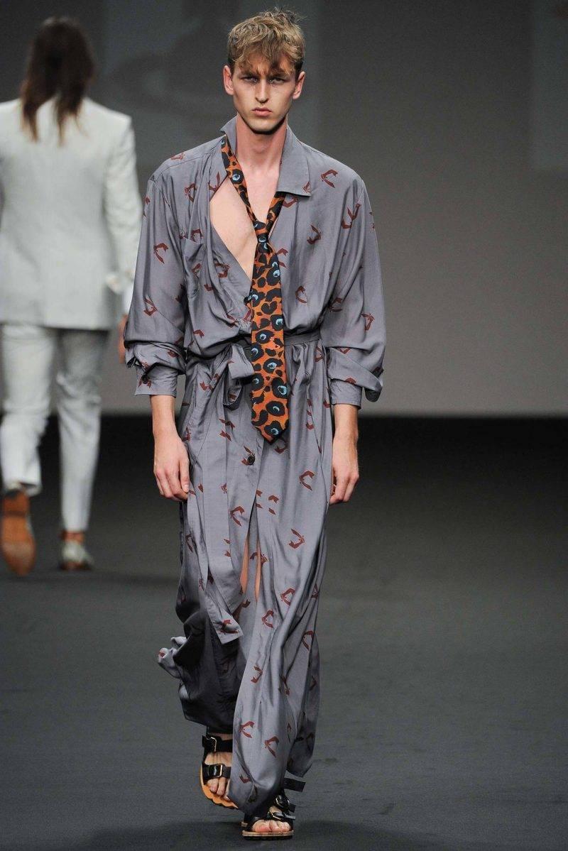Men hairstyle 2015 Vivienne Westwood