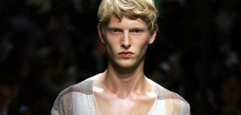 Men's Hairstyle 2015 Prada