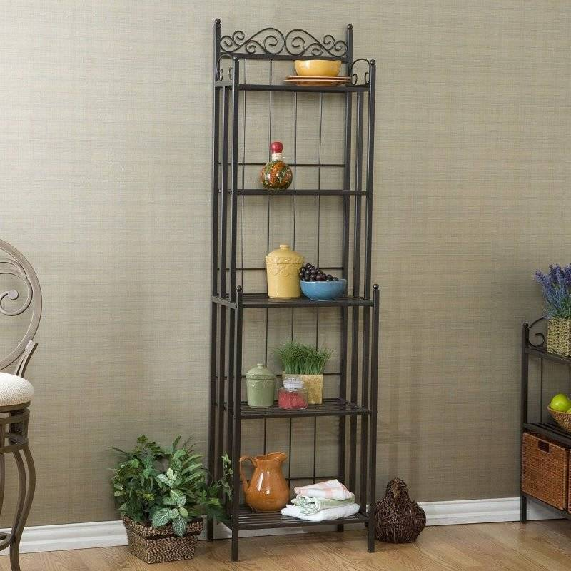 Metal shelves for your home