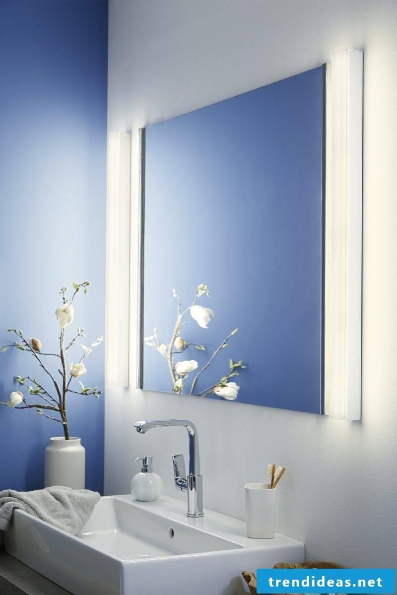 Sconces as mirror lighting bathroom