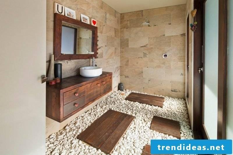 modern bathroom design ideas natural materials