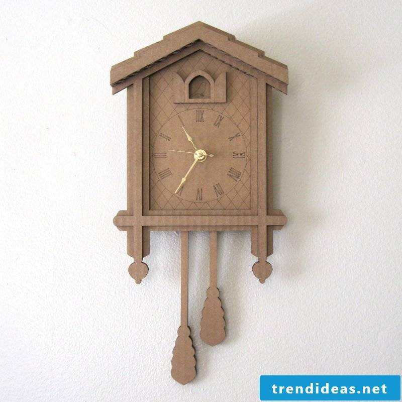 Woody cuckoo clocks