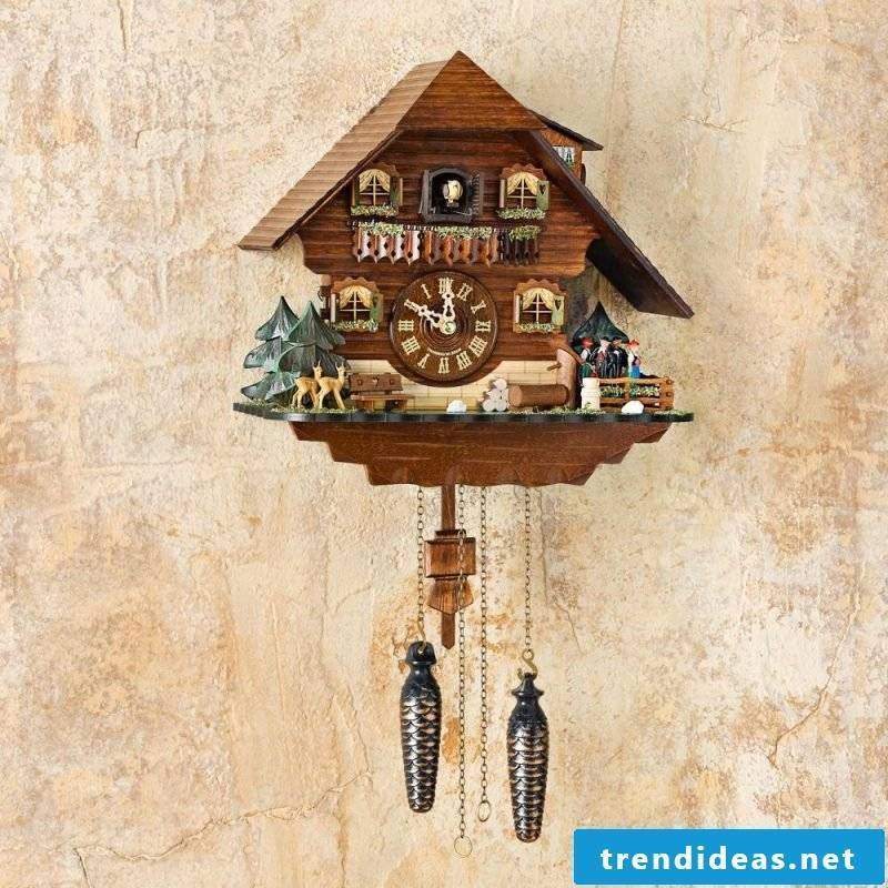 This cuckoo clock is one of the best in the world.