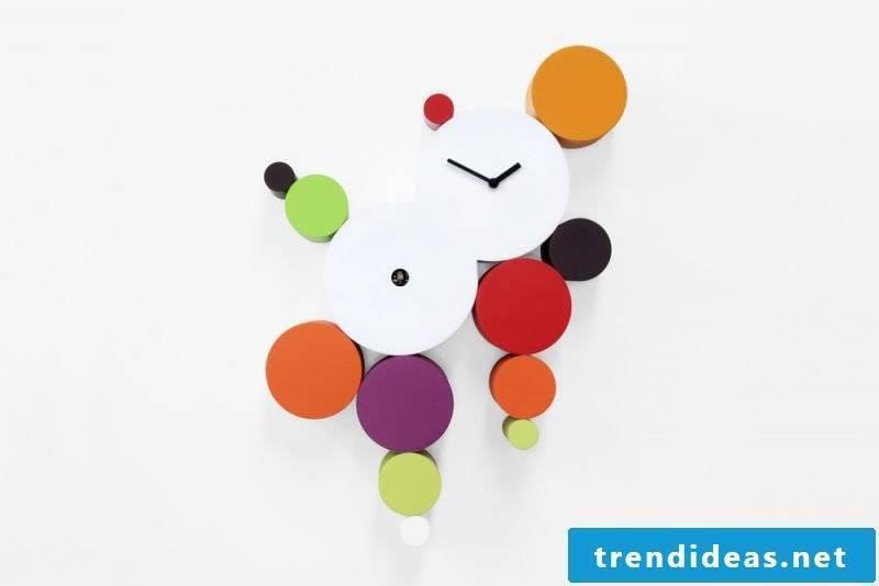 Cuckoo clock with a unique design.