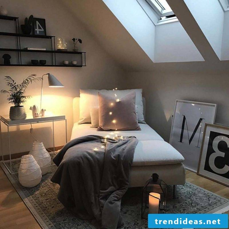 Decorate with fur to modernize bedrooms