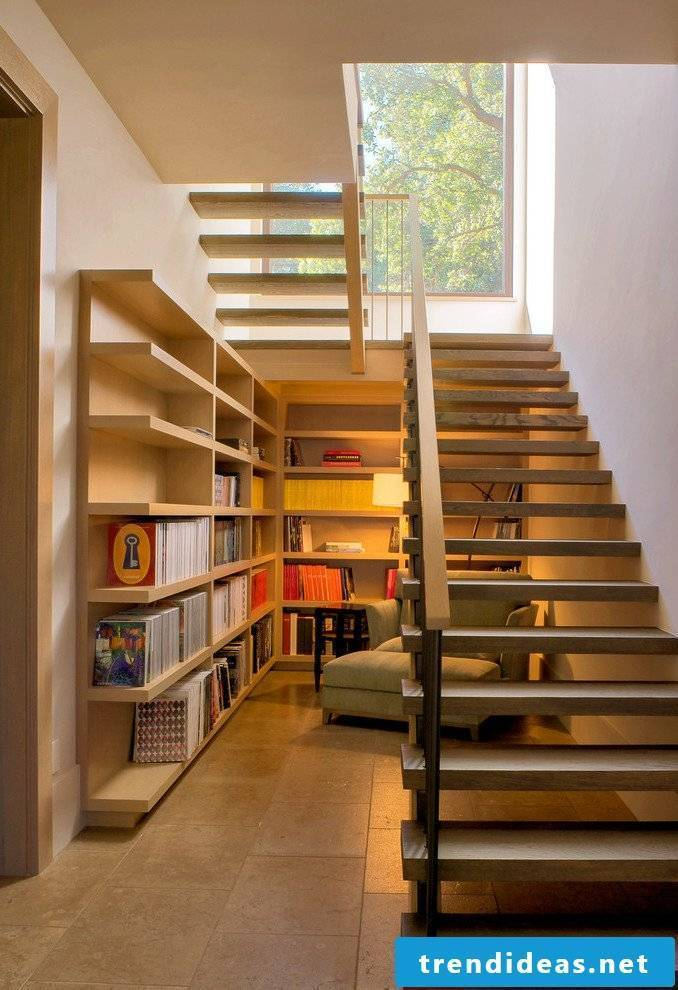 Modern stairs - Another room under the stairs!