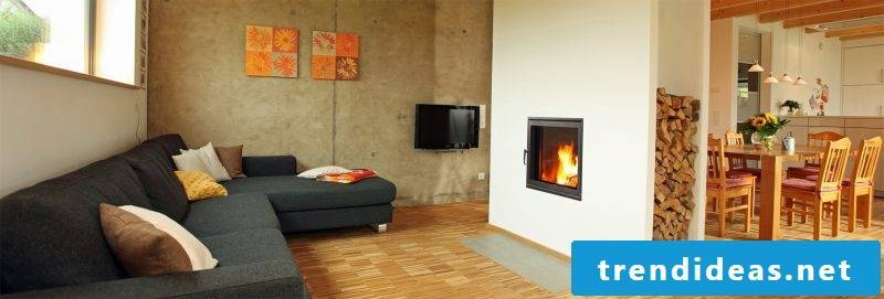 Modern stoves as a separation wall