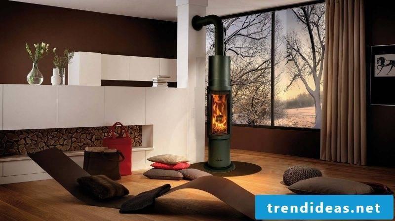 Modern stoves have an elegant design