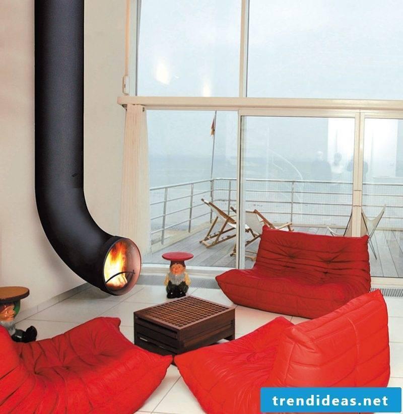 Modern stoves have a unique design